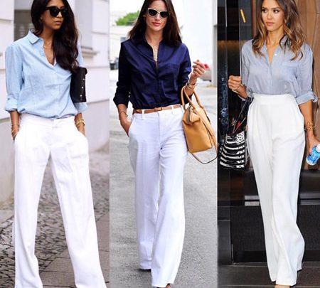 ست لباس و مانتو سفید