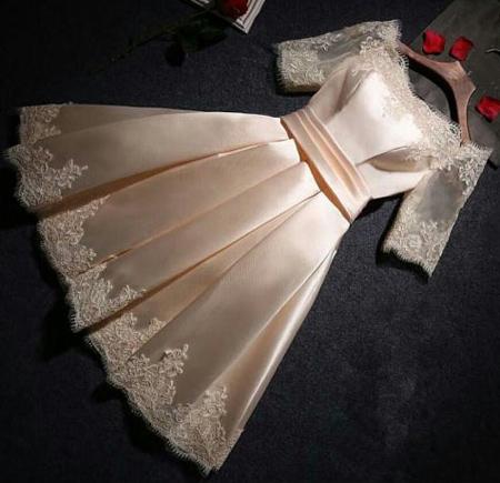 مدل لباس مجلسی کوتاه, مدل لباس دخترانه