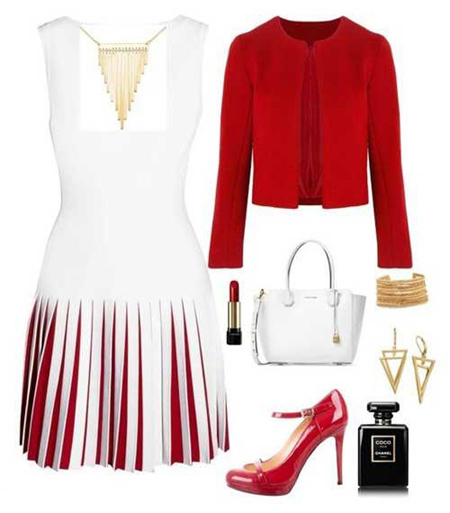 لباس سفید,ست لباس سفید با کفش